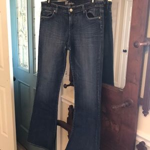 Kut from the Kloth Jeans wide leg flare pants 14